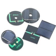 1pc 2V 3V 50mA 100mA 125mA Mono/polycrystalline solar panel /solar cell battery module Epoxy board PET power generation board
