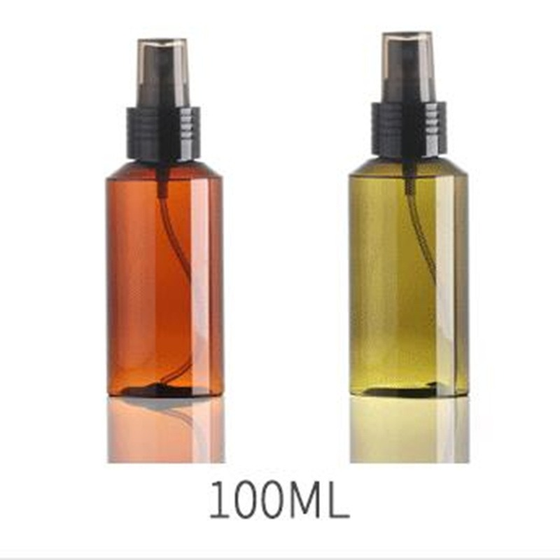 100ml Empty Spray Bottle Travel Transparent Plastic Clear Perfume Atomizer Travel Perfume Storage Bottle Points Bottling