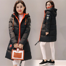 2019 Winter Jacket Women Long Coats Cotton Casual Hooded Parka Thick Warm Plus Size 3XL Female Overcoat Manteau Femme Hiver стоимость