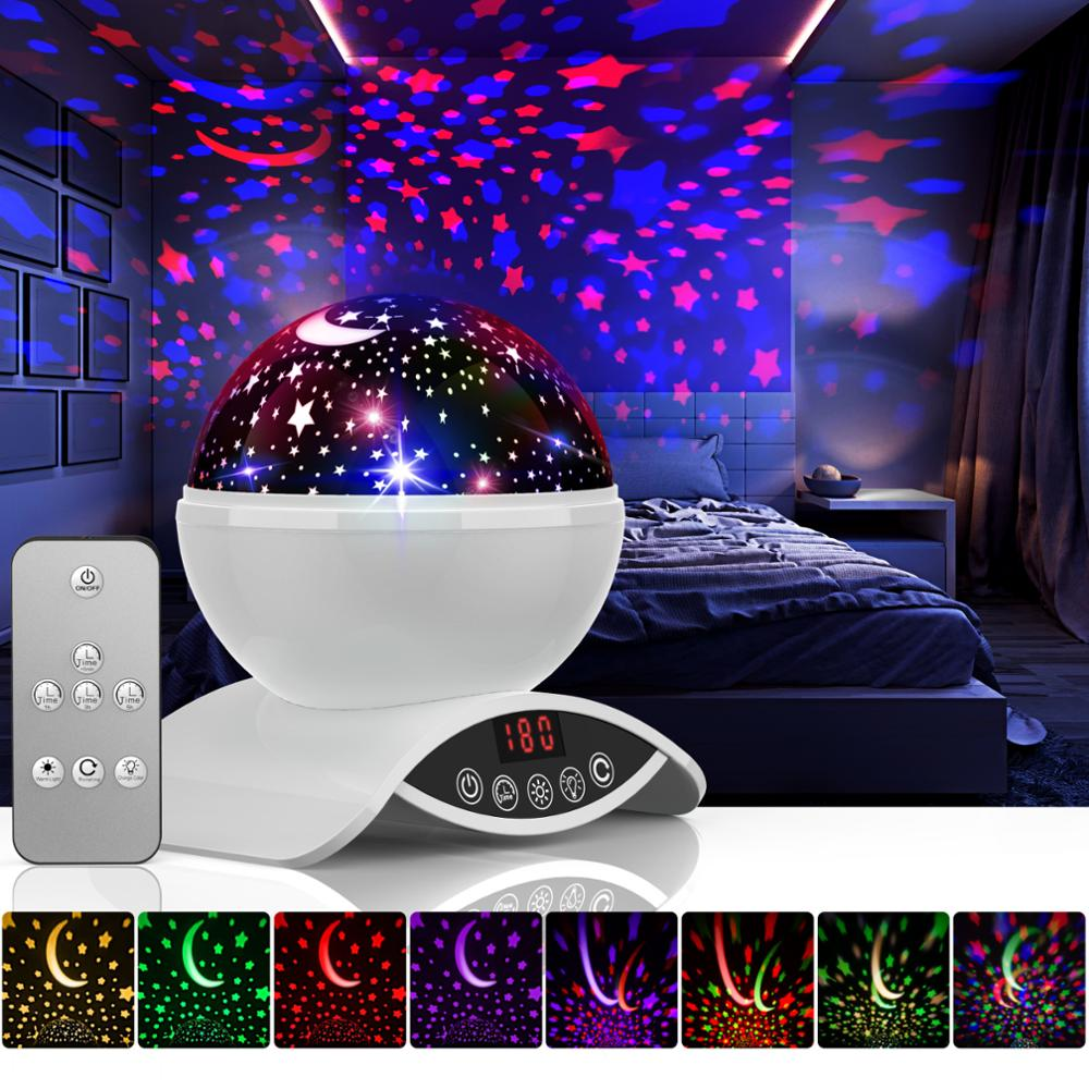 Galaxy Projector Kids Light Me Stars Led Night Light Projector Atmosphere Lamp Moon Lamp Battery Bedroom Lamp Projection Lamp Led Night Lights Aliexpress