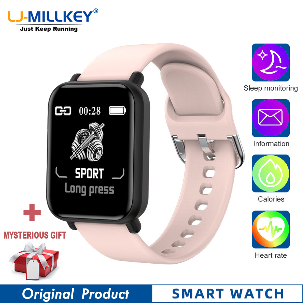 R16 smart watch for men smartwatch android iOS women watches smartband akilli saatler Heart Rate Tracker monitor Passometer