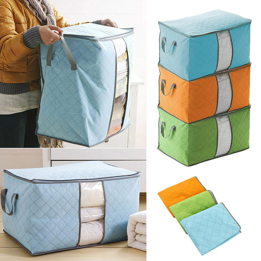 Quilt Storage Bag Clothes Storage And Sorting Bag Household Storage Bags Organizer Clothes Finishing Dust Bag