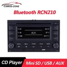 Автомобильный радиоприемник Bluetooth RCN210 CD плеер USB MP3 AUX 31G 035 185 для VW Polo 9N Golf Jetta MK4 Passat B5 RCN 210