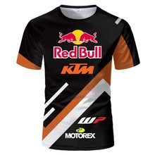 2021 New Summer 3D Printing Fashion Cool Motorcycle Racing Men's And Women's Casual Style Short Sleeve T-Shirt