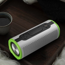 Portable Bluetooth Wireless Sound Column Waterproof Speaker Super Bass Small Steel Cannon True Wireless Stereo Speaker