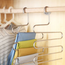 Вешалка для брюк, брюки-органайзеры, вешалка для одежды, многослойная вешалка для хранения одежды, экономия пространства, органайзер, домашний декор