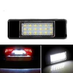 2x Licence plate light For Peugeot 106 1007 207 307 308 406 407 508 4008 5008 Rear Tail Licence Number Plate Light