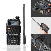 "vhf uhf dual 2pcs Baofeng BF-F8 + מכשיר הקשר Dual Band VHF & UHF SMA-F שני הדרך רדיו BF F8 + F8 Comunicador Ham CB רדיו טווח Hf מקמ""ש (3)"