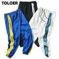 Мужские спортивные брюки в стиле Харадзюку, повседневные Беговые Брюки-шаровары в стиле хип-хоп, размеры до 4XL