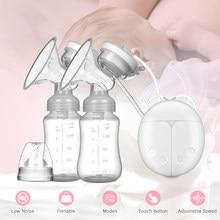 Bomba de mama elétrica unilateral e bilateral bomba de mama manual de silicone acessórios de amamentação do bebê