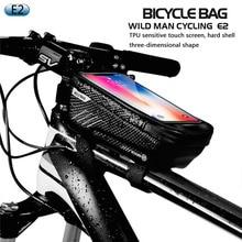 TPU หน้าจอสัมผัสกันน้ำจักรยานผู้ถือโทรศัพท์มือถือยืนสำหรับ BMW moto รีไซเคิลจักรยาน moto โทรศัพท์สำหรับ iPhone XS 11