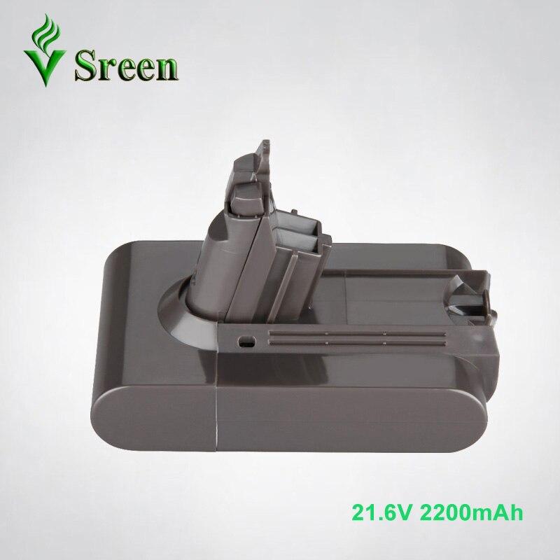 Hi-q 21.6V 2200mAh Li-ion batterie Rechargeable pour remplacement DYSON DC61 DC62 DC72 DC58 DC59 DC74 965874-02 aspirateur V6
