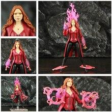 """Scarlet Hexe 6 """"Film Action Figur Wanda Django Maximoff Heldinnen Avenger 4 Endgame Legends Spielzeug Elizabeth Olsen Puppe Modell"""