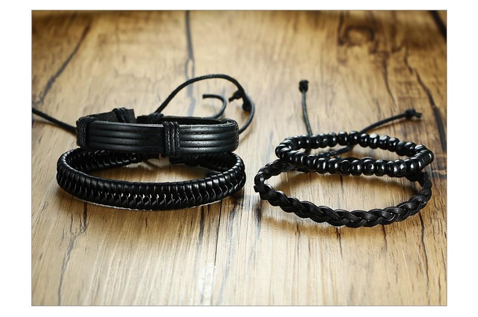 H404dbf3e390244cc8452d56a85fa838ez - Handmade leather bracelets