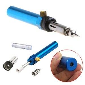 Burner Butane Gas Blow Torch Solder Iron Gun Cordless Welding Pen Burner Quality