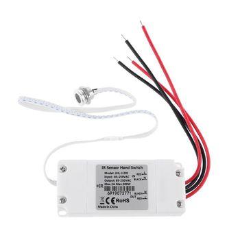 Touchless IR Motion Sensor Hand Switch On/Off Kitchen Cabinet Light Switch AC 110V 220V