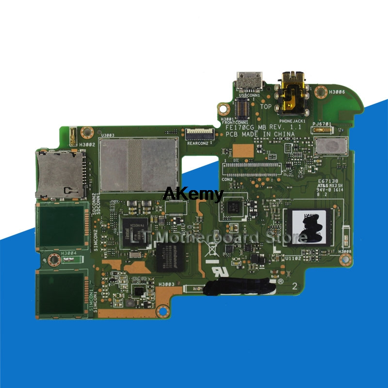 Image 2 - MAINBOARD For Asus FonePad 7 FE170CG 8GB tablet PC mobile phone motherboard is completely new stable Motherboard-in Motherboards from Computer & Office