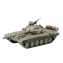 1: 72 Масштаб экшн фигура M42 JSU-152 T-55A M1A2 T72-MI Мини Танк собранная модель Тяжелая машина Танк подарок для детские игрушки сделай сам