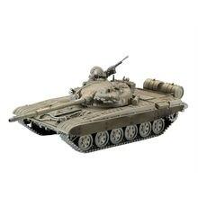 1:72 Scale Action Figure M42 JSU-152 T-55A M1A2 T72-MI Mini Tank Assembled Model Heavy Machine Tank Gift For Children DIY Toys стоимость