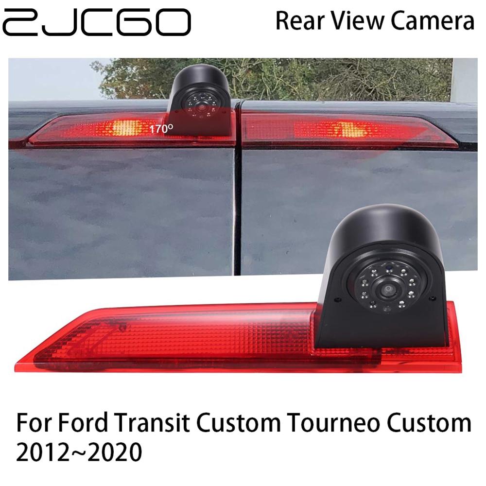 Купить zjcgo автомобильная камера заднего вида для парковки ford transit