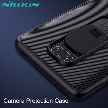 Перейти на Алиэкспресс и купить Защитный чехол для камеры для xiaomi, чехол NILLKIN для защиты объектива от скольжения, чехол для защиты объектива для xiaomi 9 pro /Max, подходит для моде...