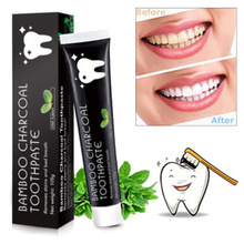 Charcoal Toothpaste Whitening Teeth Remove Stain Fluorid Free Sensitivity Care Activated  Anticavity Complex Mint Flavor