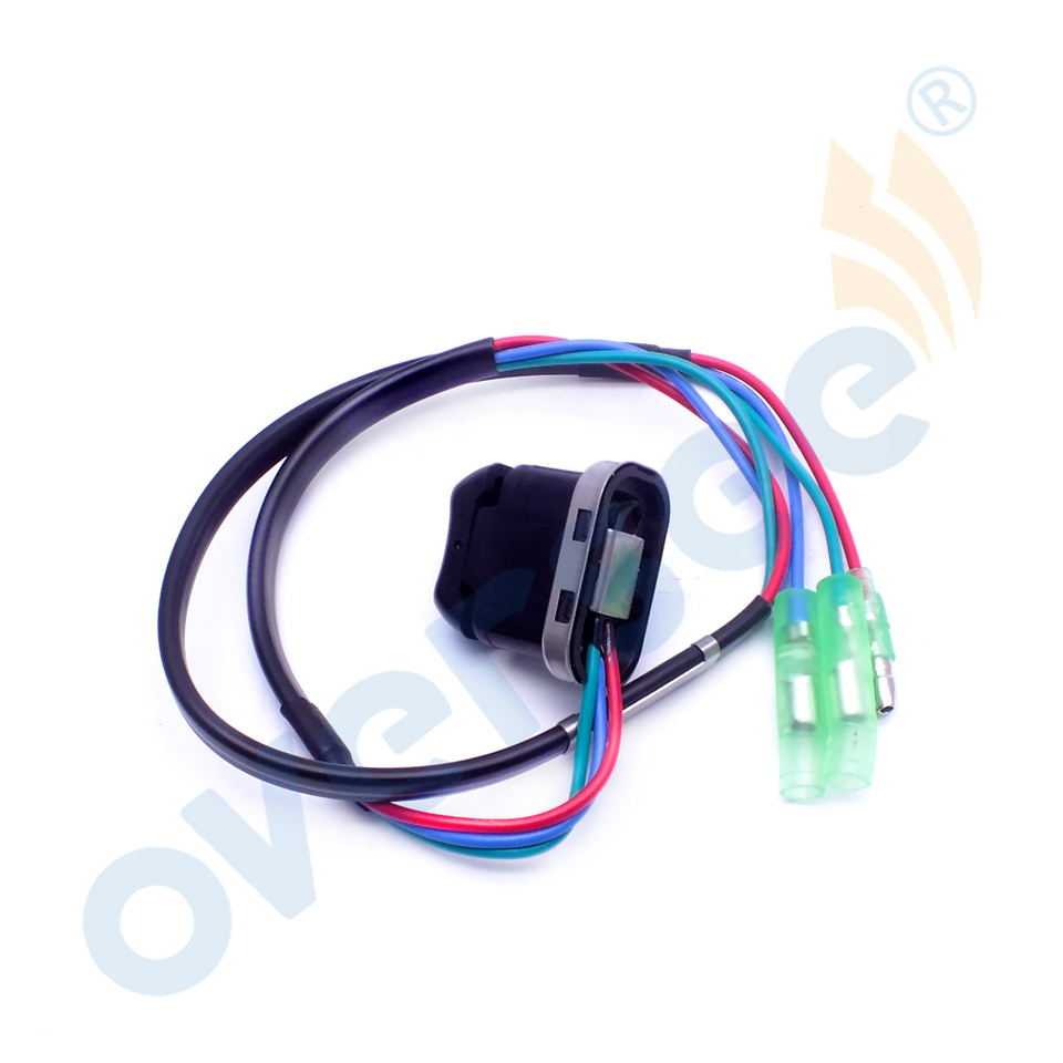703825630100 12V Universal Trim Tilt Switch Replacement Fit for Yamaha Outboard Motor OE Suuonee Trim Tilt Switch