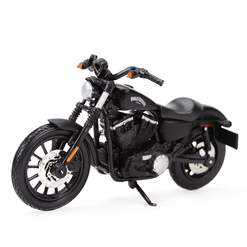 Maisto 1:18 2014 Sportster Iron 883 Diecast Alloy Motorcycle Model Toy