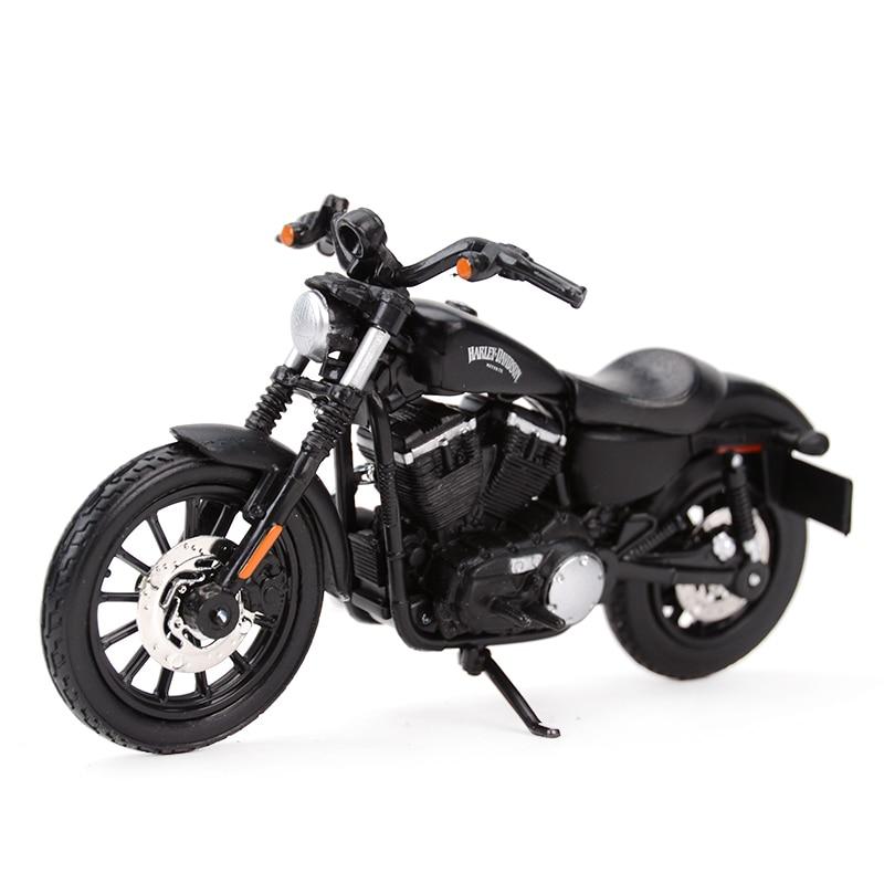 Maisto 1:18 2014 Sportster Iron 883 Diecast Alloy Motorcycle Model Toy