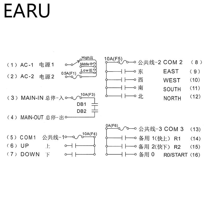 220VAC 12V 24V 36V 380V sans fil grue télécommande F23 A + + S industrielle télécommande grue bouton poussoir commutateur - 5