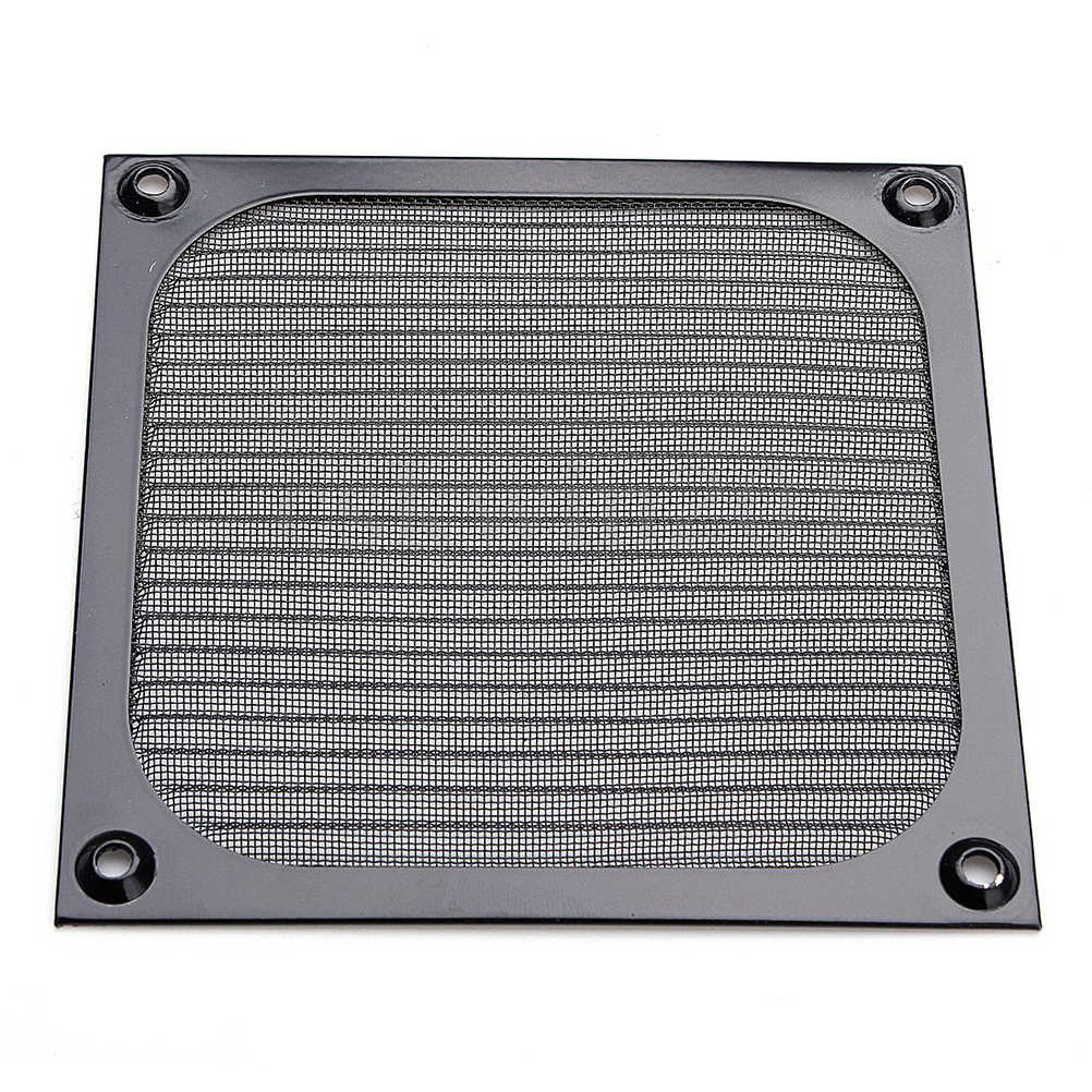 120 Mm Aluminium Grill Guard PC Komputer Kipas Pendingin Debu DUST Filter Case Baru
