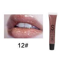 Glitter Liquid Lipstick Long Lasting Waterproof Moisturizing Candy Color Lip Gloss 6