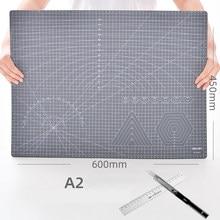 A2 a3 a4 manual de escrita exame estudantes trabalho desenho almofada dupla-face escala pvc manual ledger corte de papel escultura almofada de corte