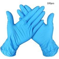 Gummi Nitril 9 Inch Handschuhe Einweg Handschuhe Schutz Handschuhe Universal Reinigung Arbeit Finger Handschuhe 50/ 100Pcs-in Handschuhe aus Kraftfahrzeuge und Motorräder bei