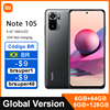 Global Version Xiaomi Redmi Note 10S 6GB 64GB/128GB Smartphone 10 S 64MP Quad Camera Helio G95 AMOLED DotDisplay 33W 5000mAh 1