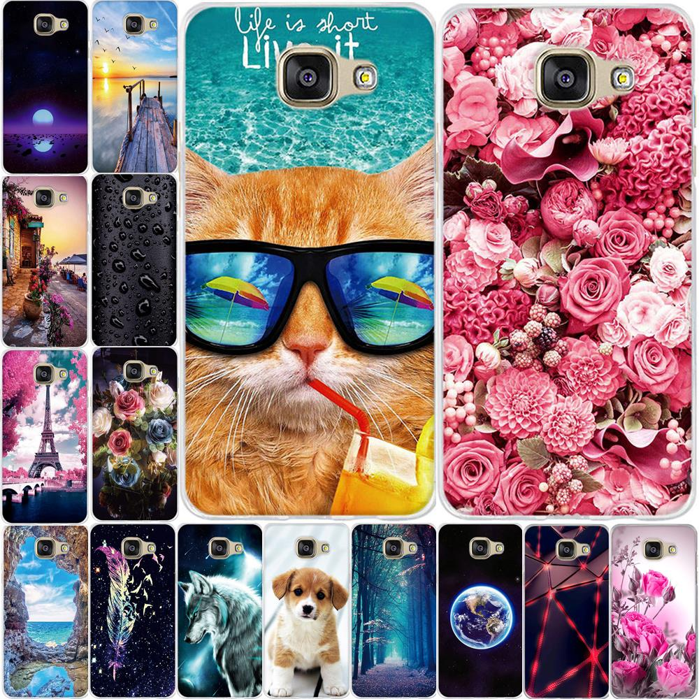 Case for Samsung Galaxy A5 2016 Case Siliocne Cover for Samsung Galaxy A5 2016 Cover Fundas for Samsung A5 2016 A510F հեռախոսի Case