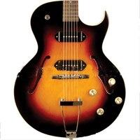 HOT 41 inch Left Electric Guitar Concert Jazz 6 string Guitar Rosewood Fingerboard Semi Hollow Body Guitar AGT195