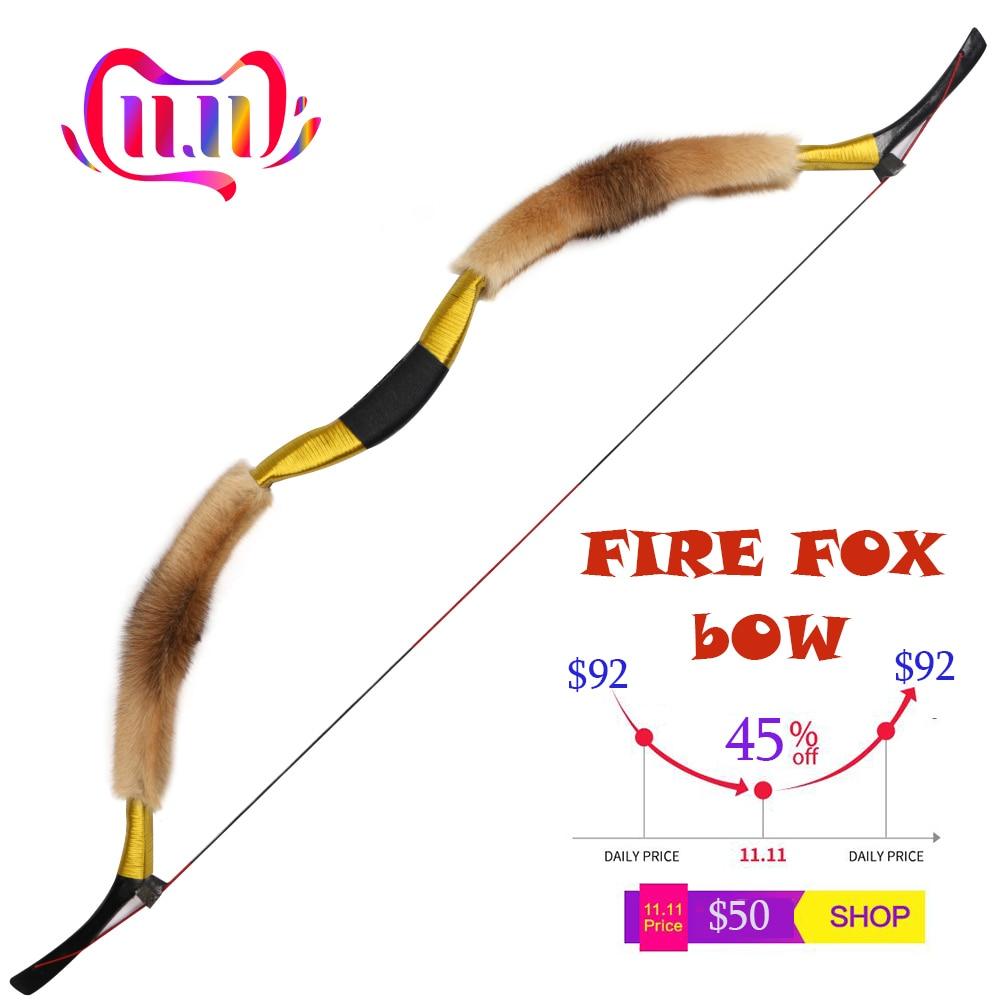 à mão mongol tradicional arco recurvo longbow