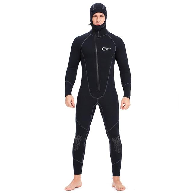 YONSUB 잠수복 5mm / 3mm / 1.5mm / 7mm 스쿠버 다이빙 슈트 남성 네오프렌 수중 사냥 서핑 프론트 지퍼 스피어 낚시 슈트