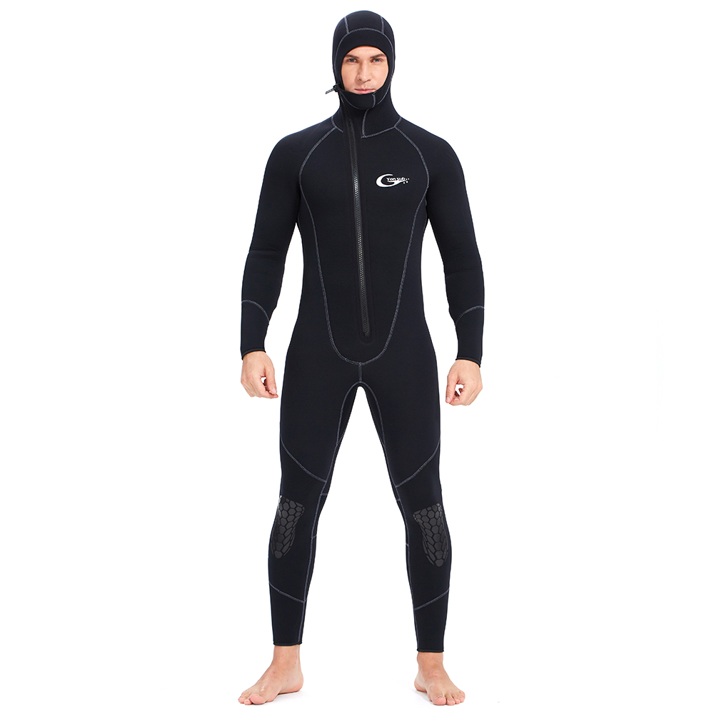 Scuba-Diving-Suit Surfing Spearfishing Front-Zipper YONSUB Underwater Hunting Neoprene title=