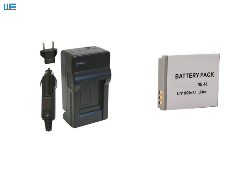 NB-6L NB6L NB-6LH NB6LH Батарея+ Зарядное устройство зум-объектив для Canon Powershot SD770 SD980 SD1200 SD1300 SD3500 SD4000 является D10 D20 D30 SX540 SX710 - Цвет: Синий