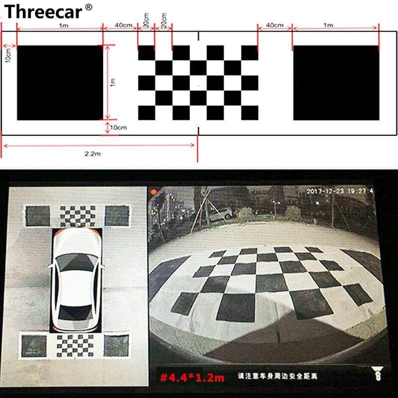 Calibration-Cloth Panoramic-Dvr-System Car-Camera Surround Bird-View 360-Degree 3D