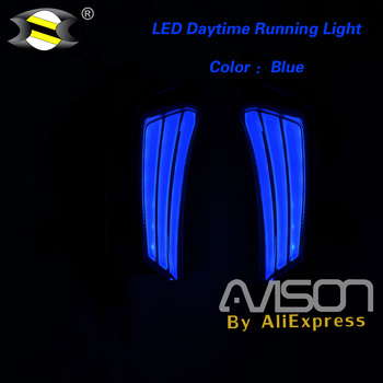 Motorcycle LED Front Turn Signal Turning Lights Indicators Side Lamp For XMAX 300 X-MAX 250 a Pair