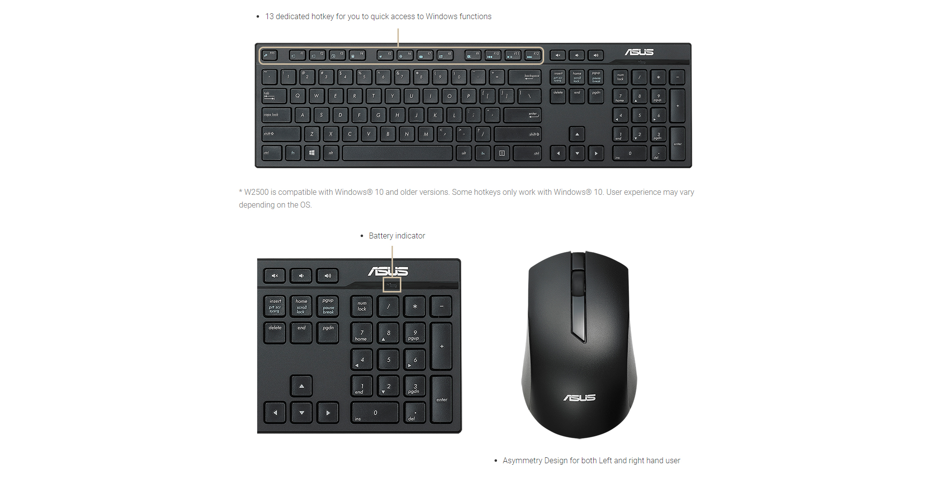 2020 Asus W2500 Wireless Keyboard And Mouse Set Designed For Comfort And Productivity From Sara2013 63 85 Dhgate Com