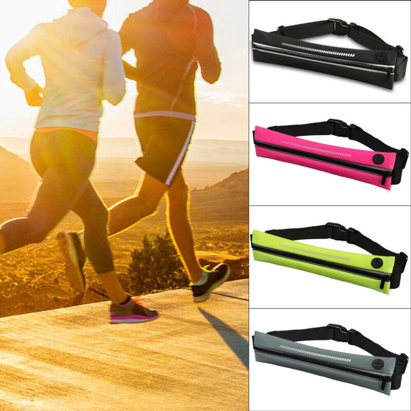 Single/Dual Pocket Running Belt Phone Waist Bag Sports Fanny Pack Outdoor