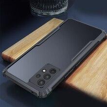 "Voor Samsung Galaxy A32 4G Case Clear Heavy Duty Armor Schokbestendig Tpu Acryl Telefoon Cover Voor Sumsung SamsungA32 Een 32 6.4 ""Fundas"