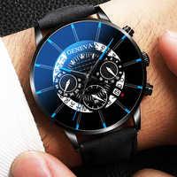 Reloj de pulsera de cuarzo para hombre, reloj masculino, reloj informal de negocios, reloj de pulsera para hombre