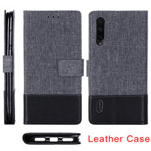 360 Phone Case For Xiaomi Mi 9T Pro 9 8 se Lite Fashion Canvas Leather Flip Cover Case for Mi Pocophone F1 A2 Lite A1 A3(China)