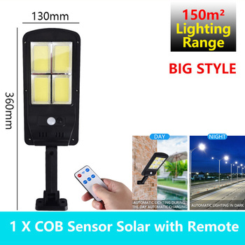 Solar Lamps LED Outdoor Waterproof PIR Motion Sensor IP65 Led Light Powerful Remote Control Garden