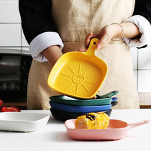 Западная тарелка для риса Скандинавская сыра пасты стейка креативная